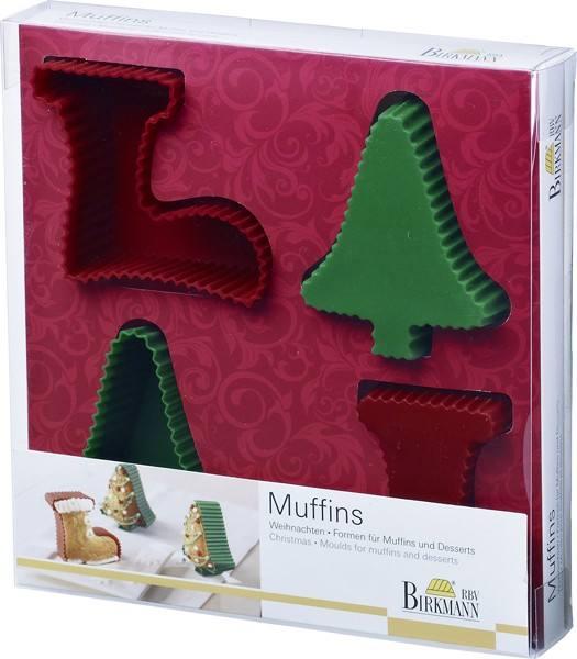Muffin- und Dessert Set Weihnachten