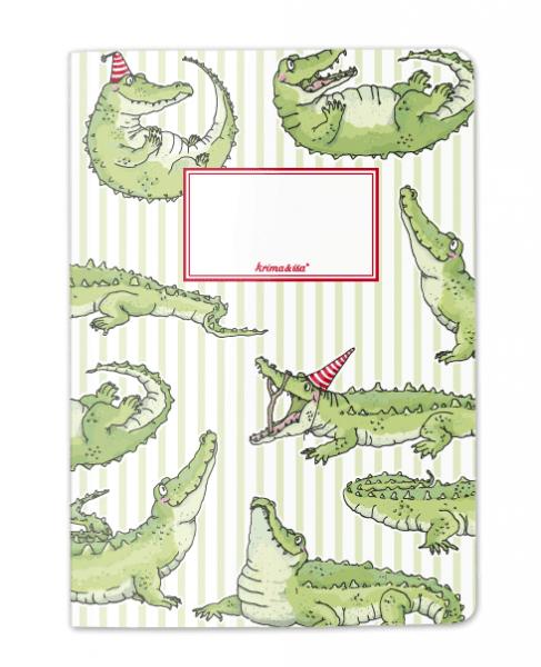 Krima & Isa - Notizheft Krokodil