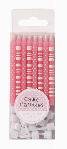 Pink - Kerzen Mix