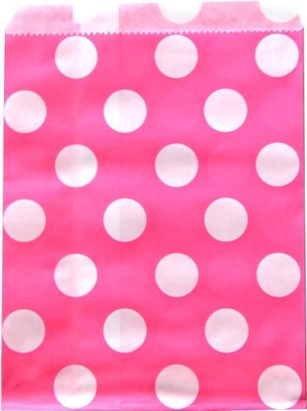 Candytüten Set pink Punkte