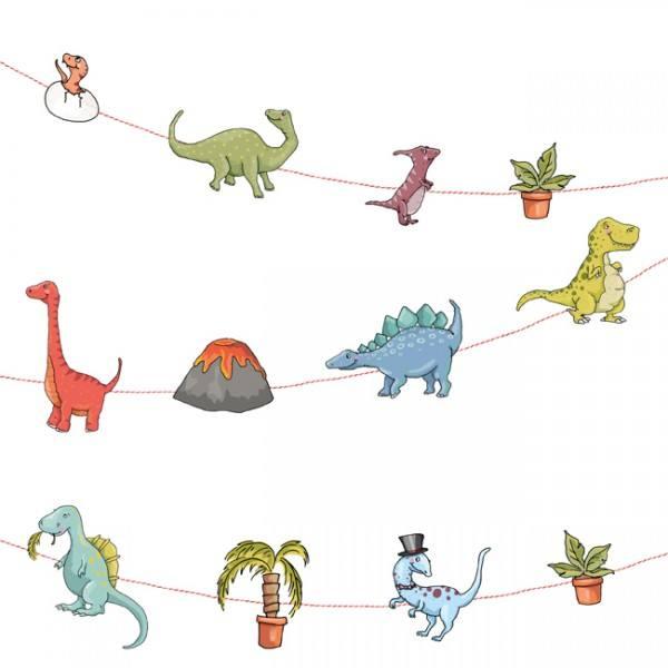 Krima & Isa - Girlande Dino