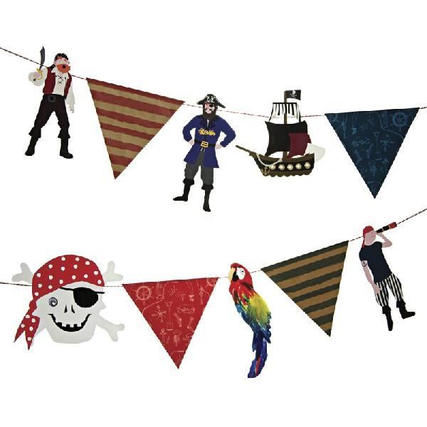 Meri Meri - Girlande Pirat