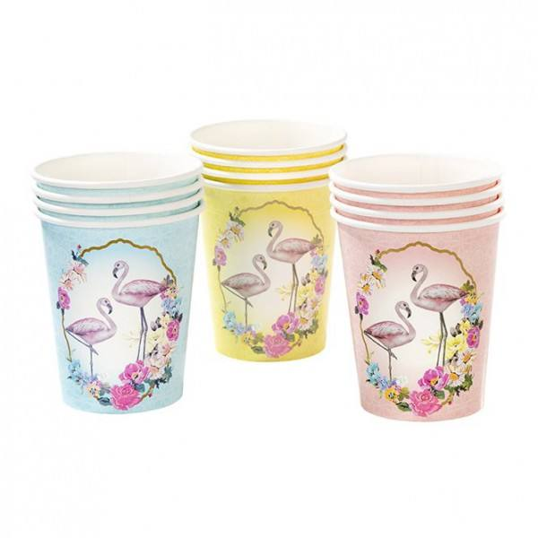 Truly - Becher Flamingo