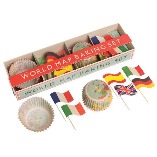 Cupcakeset Welt