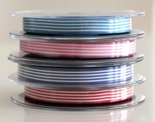 Streifenband am Meter - diverse Farben