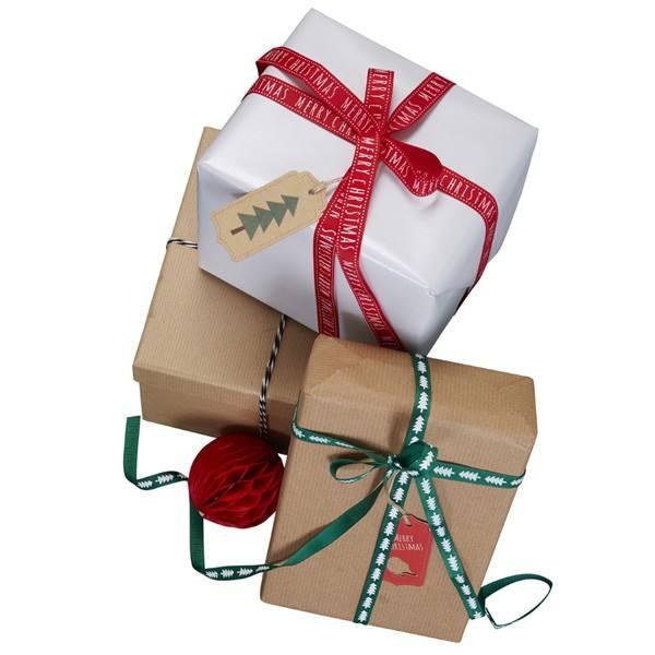 Christmas Patterns - Geschenkband