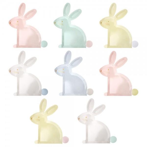 Meri Meri - Ostern Teller Bunny