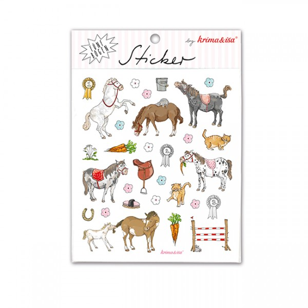 Krima & Isa Sticker Set Ponys