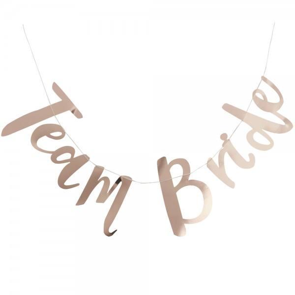 Team Bride Girlande
