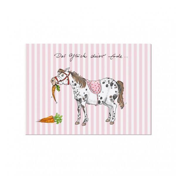 Krima & Isa - Postkarte Pony