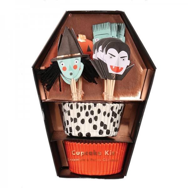 Meri Meri - Cupcake Set Halloween Character