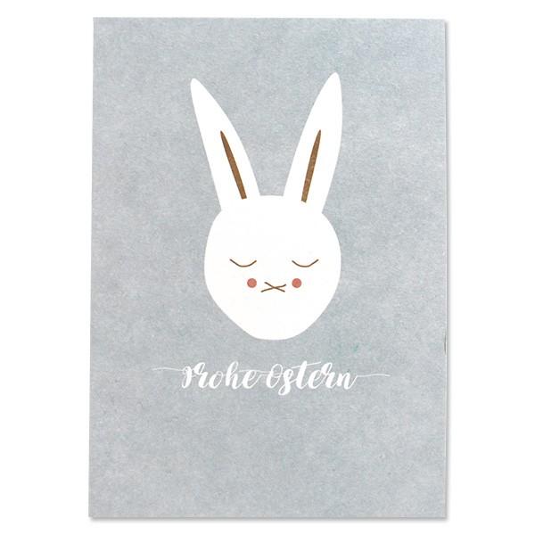 Ava & Yves Postkarte Hase Frohe Ostern