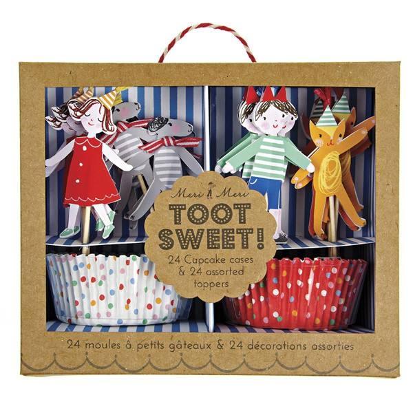 Meri Meri - Cupcake Set Zirkus