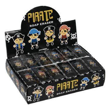 Radiergummiset Pirat