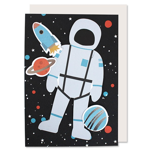 Ava & Yves Glückwunschkarten Set Weltraum Space