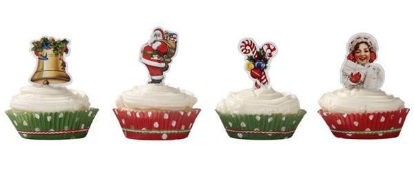 Jolly Cupcakeset Weihnachten