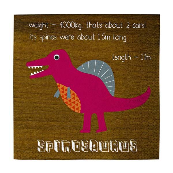 Meri Meri - Servietten Dinosaurier Vers. II