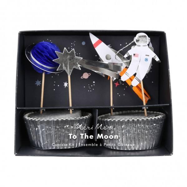 Meri Meri - Cupcake Set Weltraum