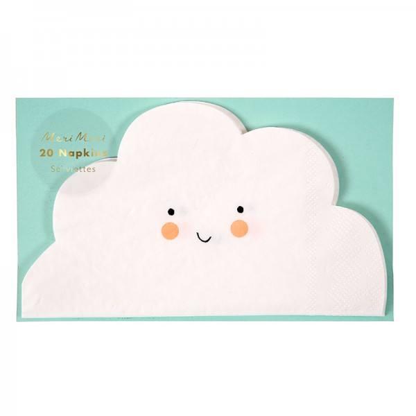 Meri Meri - Servietten Wolke