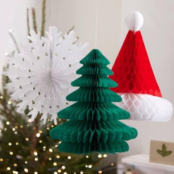 Wabenballset Tanne Vintage Noel