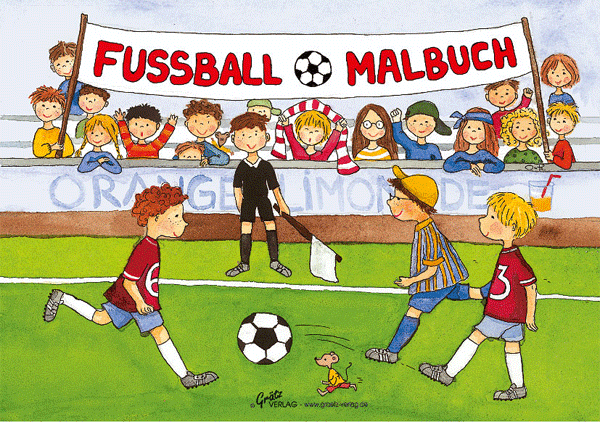 Malbuch Fussball