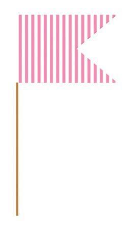 Fähnchen pink