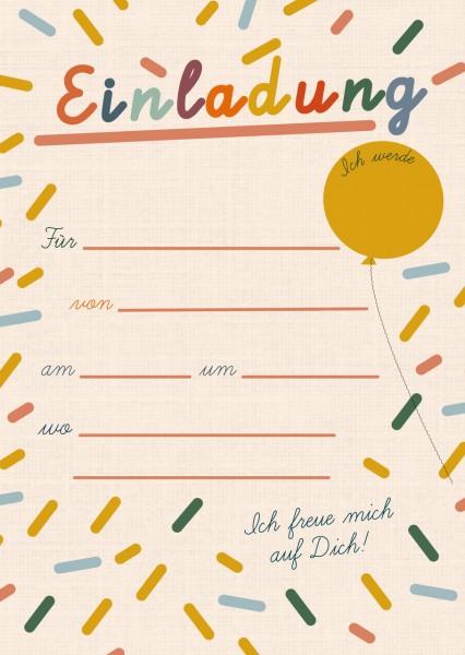 Geburtstagseinladungen Party