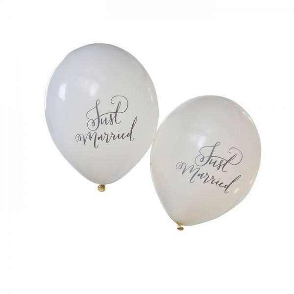 Boho Ballon Just Married