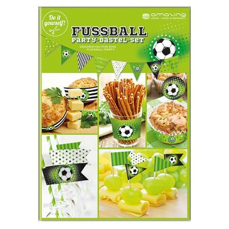 DIY Partyset Fussball