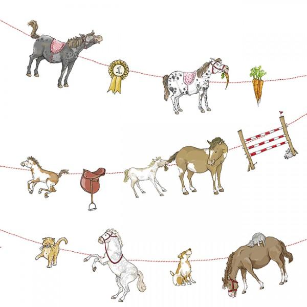 Krima & Isa - Girlande Pony