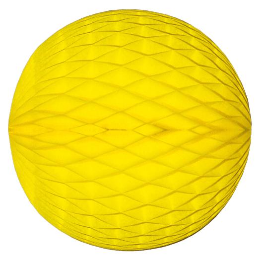 Mini Wabenball gelb 6 cm