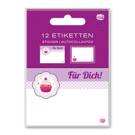 Etiketten Cupcake