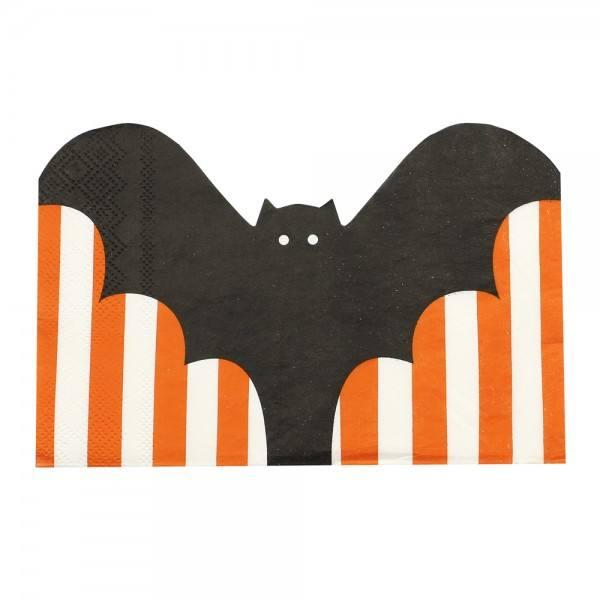 Pumpkin Party - Servietten Fledermaus