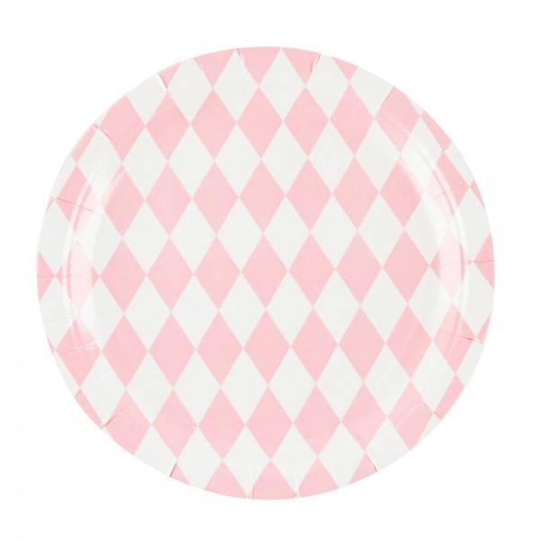 Teller rosa Raute