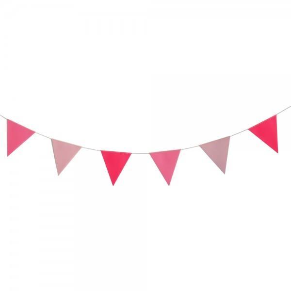 Girlande Set pink