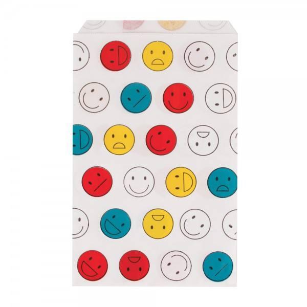 Papiertüten Happy Faces