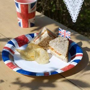 Teller British Union Jack