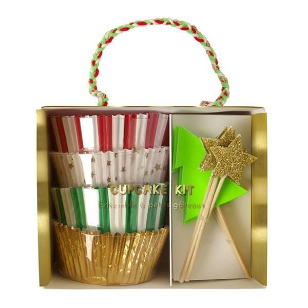 Meri Meri - Cupcake Set Sterne