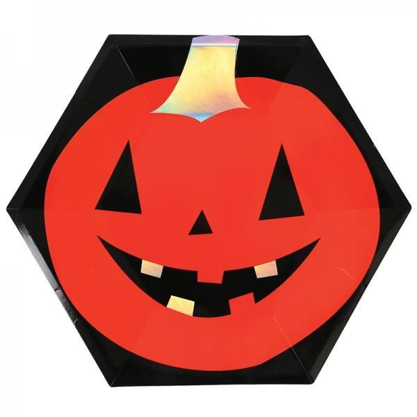 Meri Meri - Pappteller Halloween