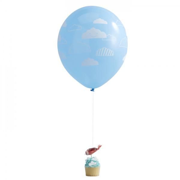 Flying High Flugzeug Luftballon