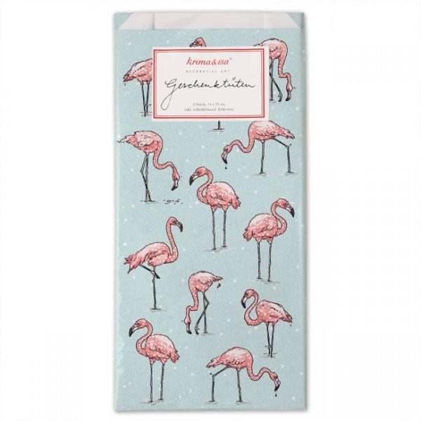 Krima & Isa Geschenktüten Flamingo