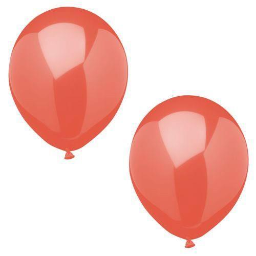 Luftballonset uni rot