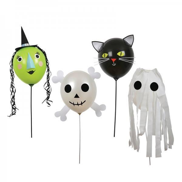 Meri Meri - Ballonset Halloween