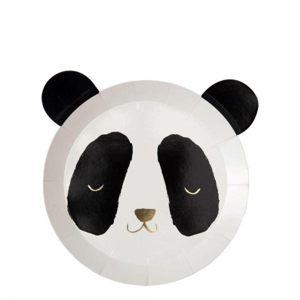 Meri Meri - Pappteller Panda