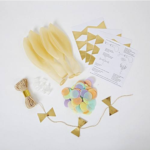 Meri Meri - Ballonset Confetti pastel