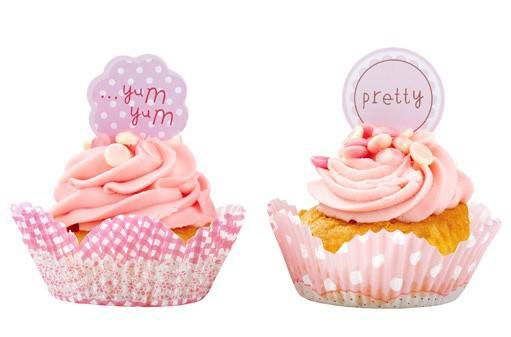 Pink - Cup Cake Set