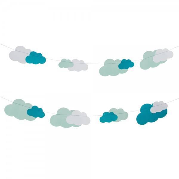 Girlande Wolken