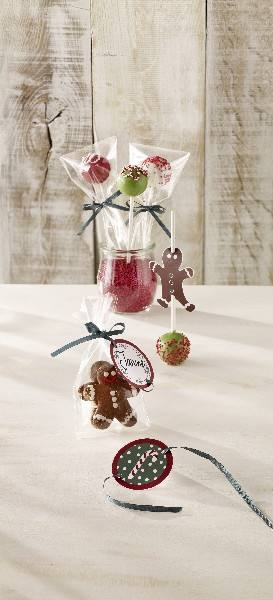 Geschenktüten Zellglas Candy Christmas