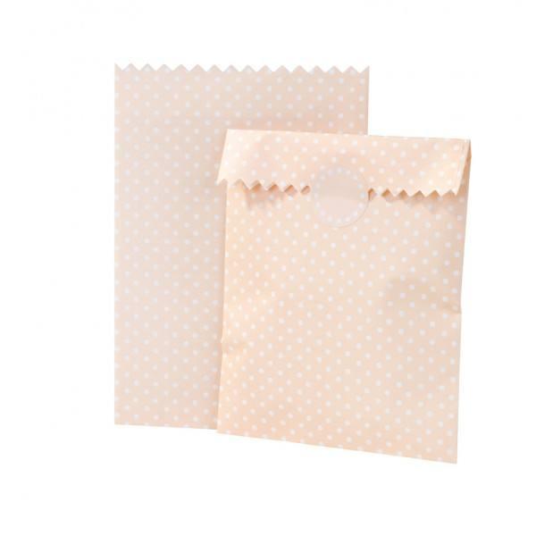 Mix - Papiertüten peach