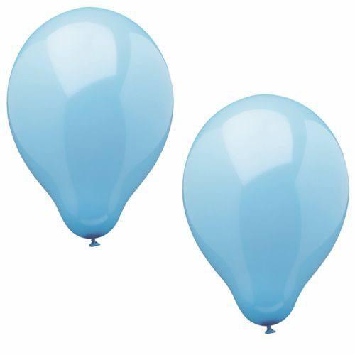 Luftballonset uni hellblau